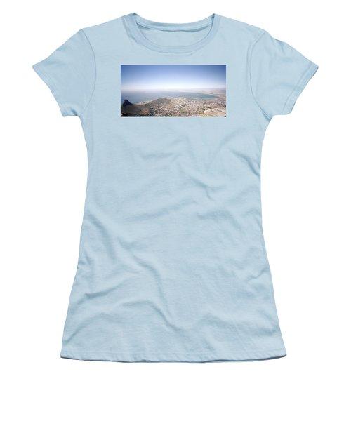 Cape Town Panorama Women's T-Shirt (Junior Cut) by Shaun Higson