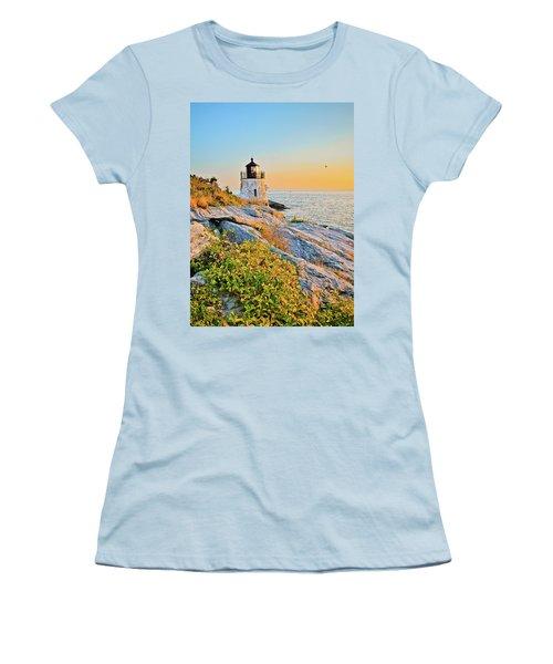 Castle Hill Lighthouse 1 Newport Women's T-Shirt (Athletic Fit)
