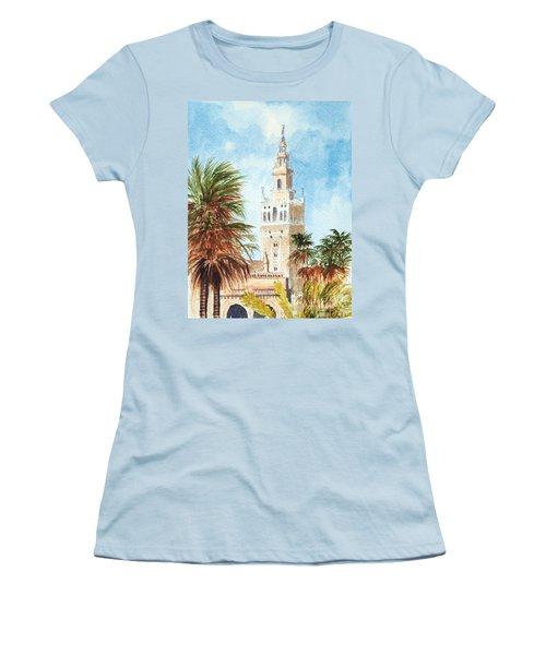 Catedral De Sevilla Women's T-Shirt (Athletic Fit)