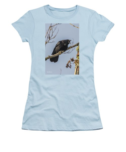 Caw Women's T-Shirt (Athletic Fit)