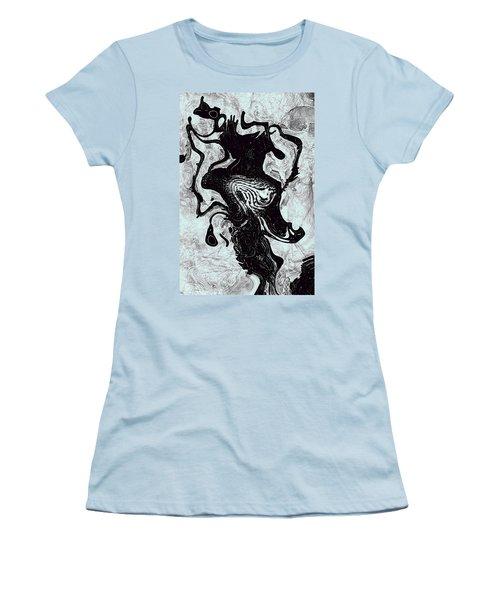 Women's T-Shirt (Junior Cut) featuring the digital art Chanteuse by Richard Thomas