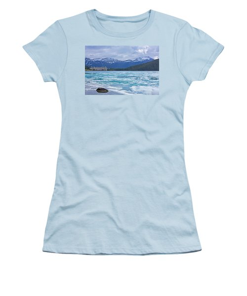 Chateau Lake Louise #2 Women's T-Shirt (Athletic Fit)
