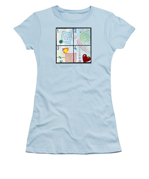 Child's Play Women's T-Shirt (Junior Cut) by Thomas Gronowski