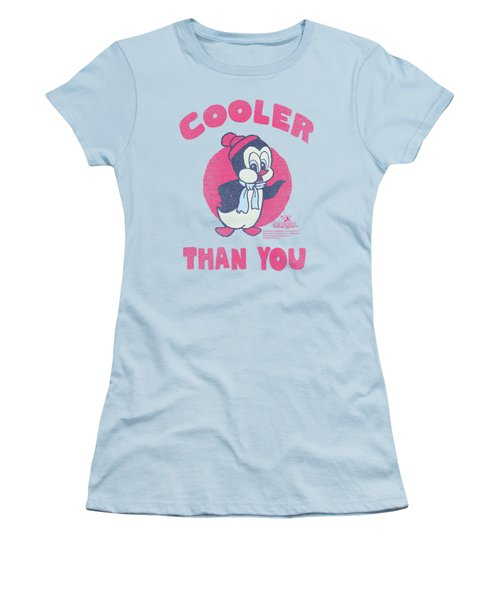 Chilly Willy - Cooler Than You Women's T-Shirt (Athletic Fit)