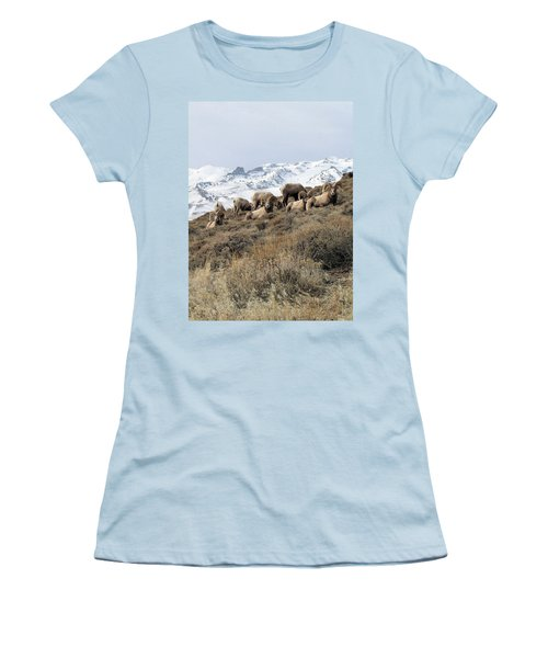 Chimney Rock Rams Women's T-Shirt (Athletic Fit)