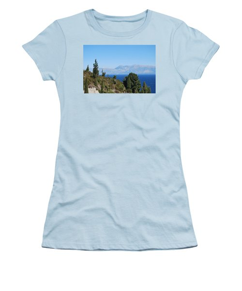 Women's T-Shirt (Junior Cut) featuring the photograph Clear Day by George Katechis