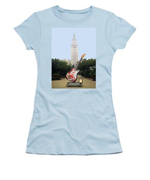 Cleveland Rocks Women's T-Shirt (Athletic Fit)