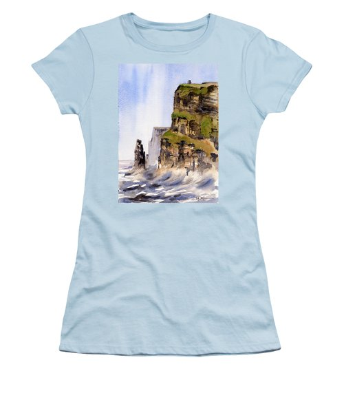 Clare   The Cliffs Of Moher   Women's T-Shirt (Athletic Fit)