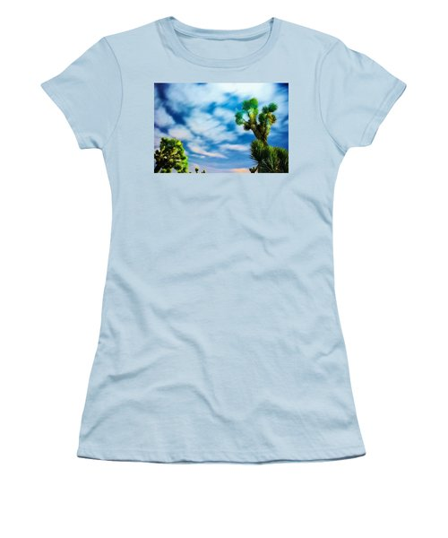 Women's T-Shirt (Junior Cut) featuring the photograph Clouds On The Move by Angela J Wright