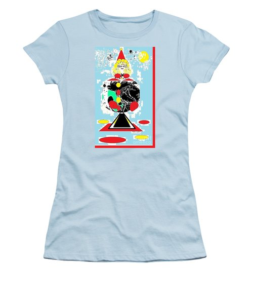 Clowning Around Women's T-Shirt (Athletic Fit)