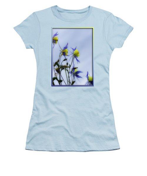 Columbines Women's T-Shirt (Junior Cut) by Peter v Quenter