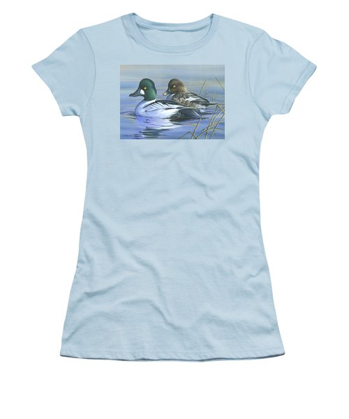 Common Goldeneye Women's T-Shirt (Athletic Fit)
