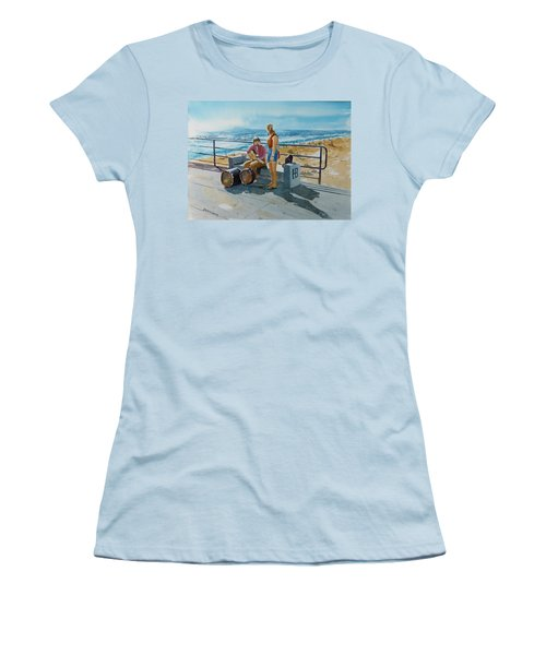 Concert In The Sun To An Audience Of One Women's T-Shirt (Athletic Fit)