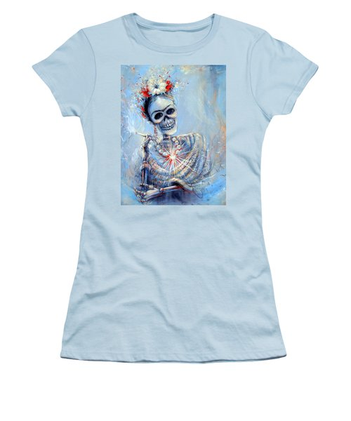 Corazon De Frida Women's T-Shirt (Athletic Fit)
