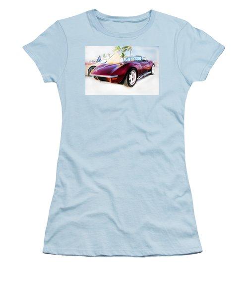 Chevrolet Corvette Series 02 Women's T-Shirt (Athletic Fit)