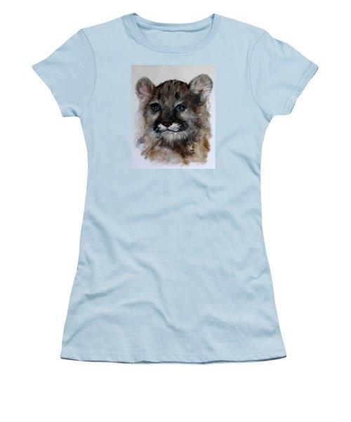 Antares - Cougar Cub Women's T-Shirt (Junior Cut) by Barbie Batson