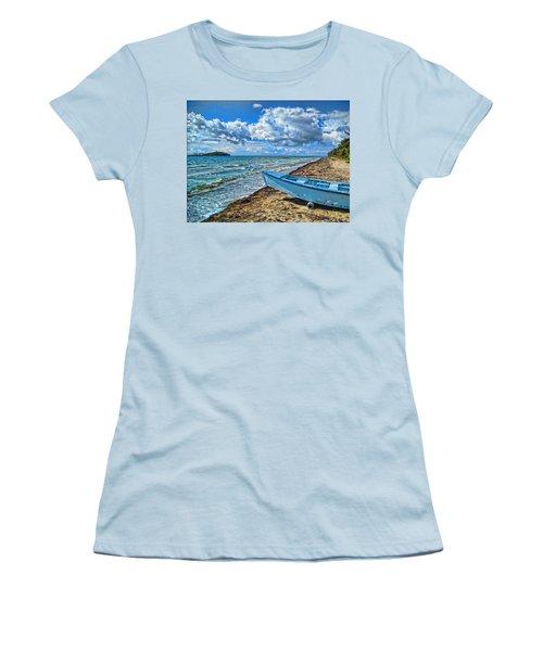Crash Boat Women's T-Shirt (Athletic Fit)