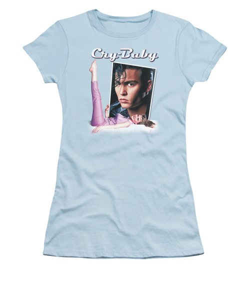 Cry Baby - Title Women's T-Shirt (Junior Cut) by Brand A