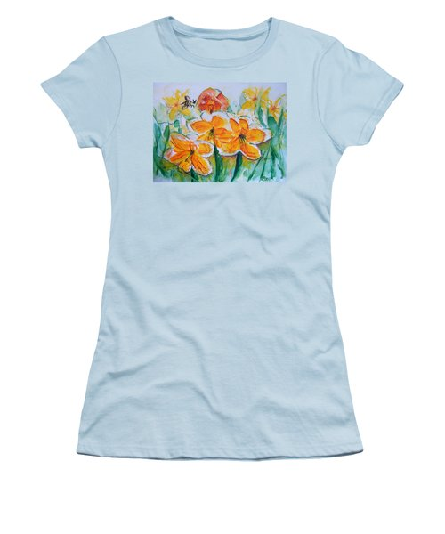 Daffies Women's T-Shirt (Athletic Fit)
