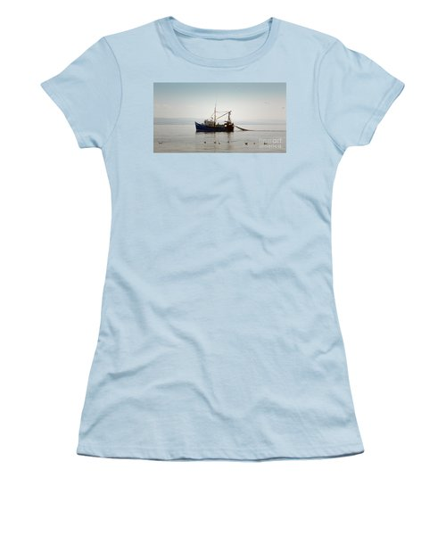Daily Catch Women's T-Shirt (Junior Cut) by Lynn Bolt