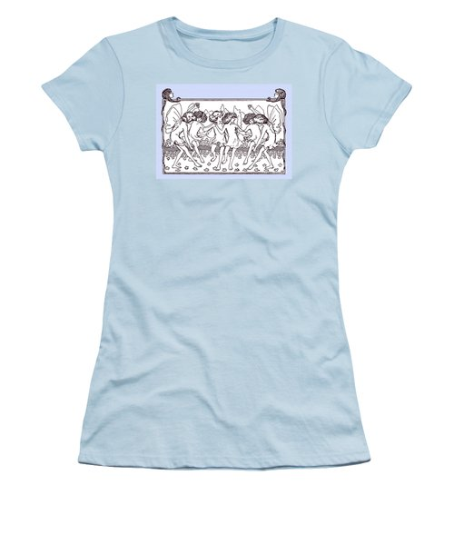 Dancing Fairies From 1896 Women's T-Shirt (Junior Cut) by Phil Cardamone
