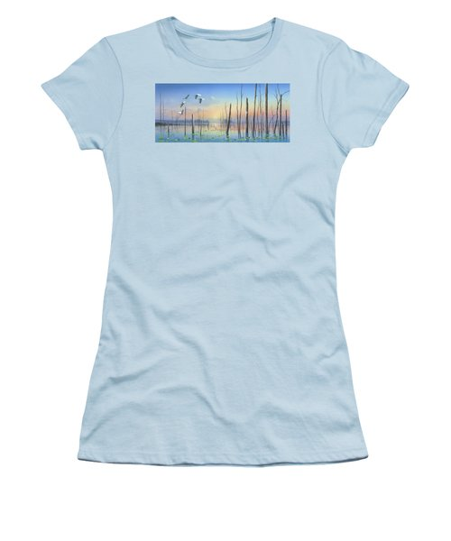 Dawns Early Light Women's T-Shirt (Athletic Fit)