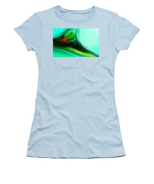 Deep Sea Women's T-Shirt (Junior Cut) by Anita Lewis