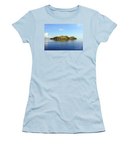 Desert Island Women's T-Shirt (Junior Cut) by Sergey Lukashin