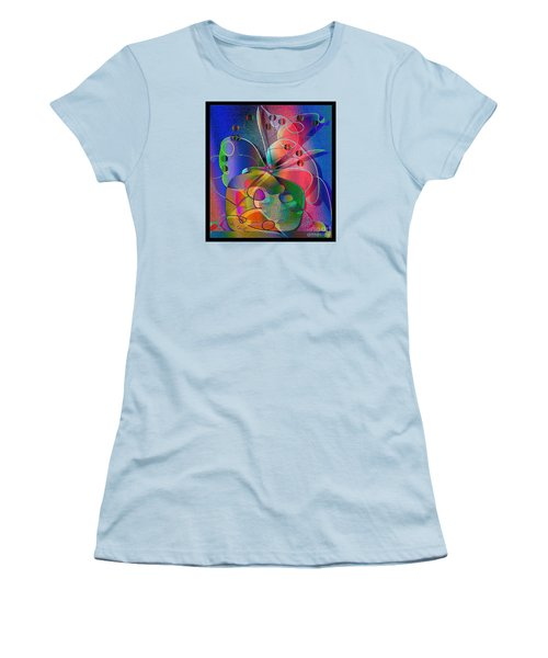 Design #29 Women's T-Shirt (Junior Cut) by Iris Gelbart