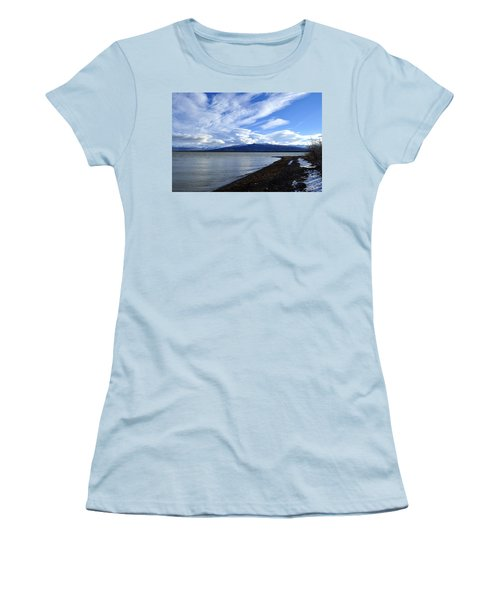 Dezadeash Lake Women's T-Shirt (Athletic Fit)