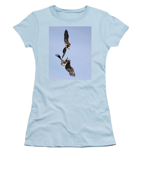 Eagle Ballet Women's T-Shirt (Junior Cut) by Randy Hall