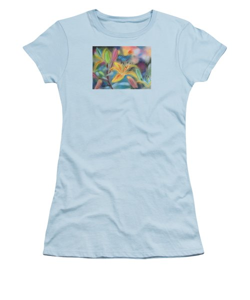 Early Arrival Lily Women's T-Shirt (Junior Cut) by Julie Brugh Riffey