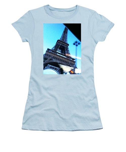 Eiffel In Motion Women's T-Shirt (Athletic Fit)