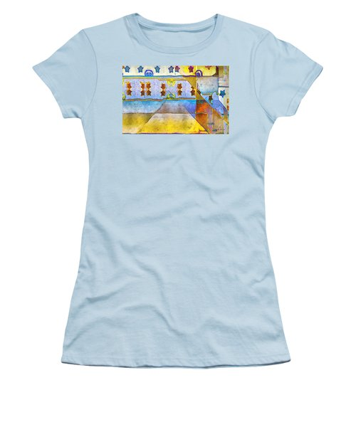 Empty Stage Women's T-Shirt (Junior Cut) by RC deWinter