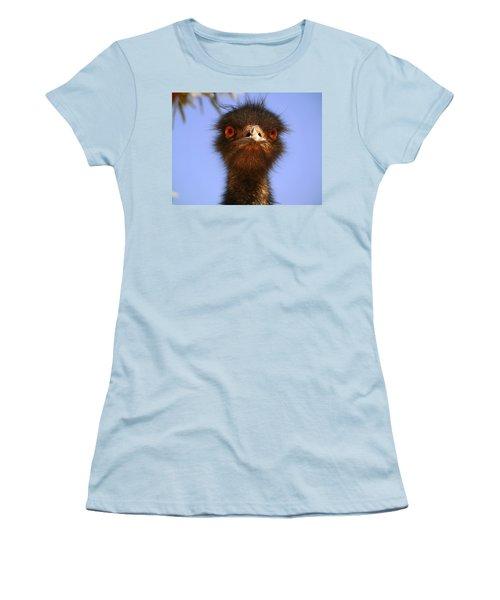 Emu Upfront Women's T-Shirt (Junior Cut) by Evelyn Tambour