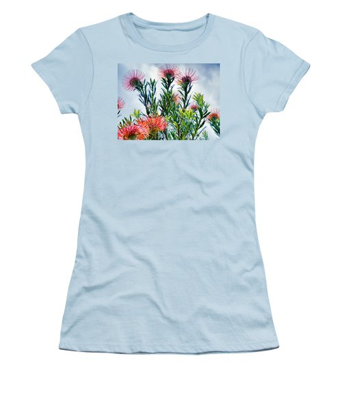 Enchanting Gardens 42 Women's T-Shirt (Junior Cut) by Dawn Eshelman