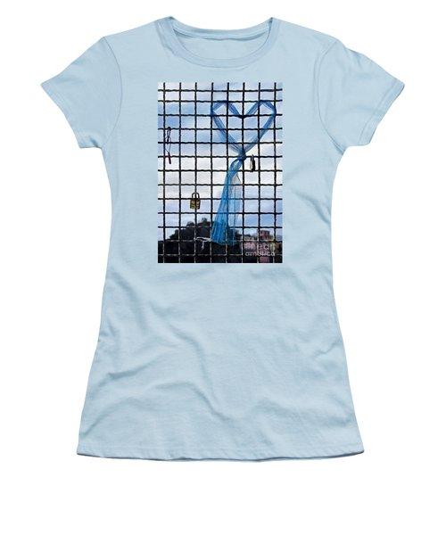 Women's T-Shirt (Junior Cut) featuring the photograph Eternal Love by Jennie Breeze