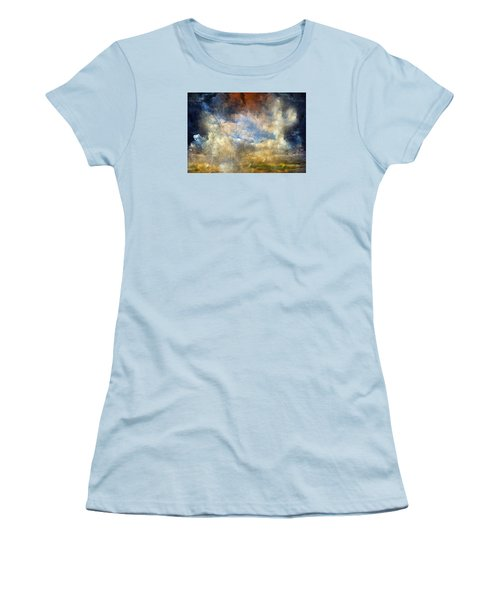 Eye Of The Storm  - Abstract Realism Women's T-Shirt (Athletic Fit)