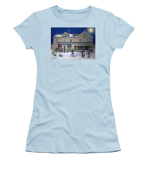 Faddens General Store In North Woodstock Nh Women's T-Shirt (Athletic Fit)