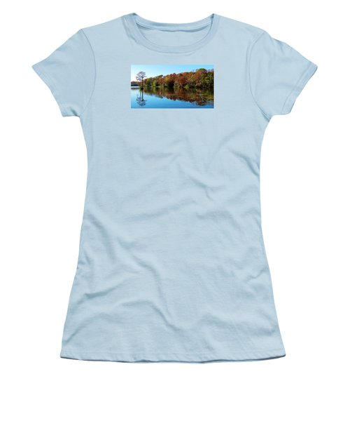 Fall In The Air Women's T-Shirt (Athletic Fit)