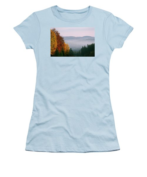 Fall Morning Women's T-Shirt (Athletic Fit)