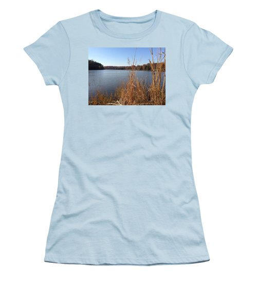 Fall On The Creek Women's T-Shirt (Athletic Fit)