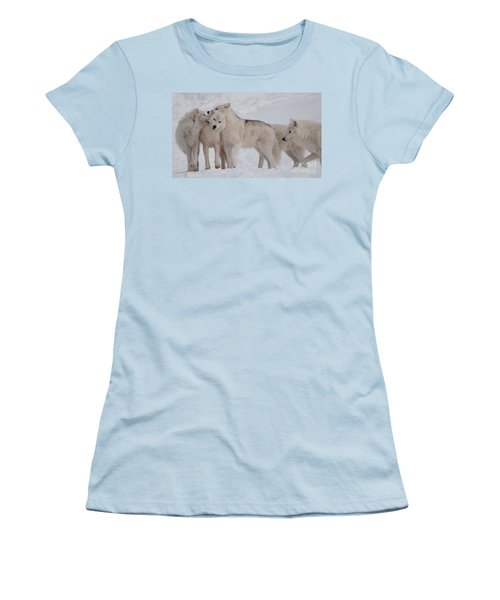 Women's T-Shirt (Junior Cut) featuring the photograph Family Ties by Bianca Nadeau