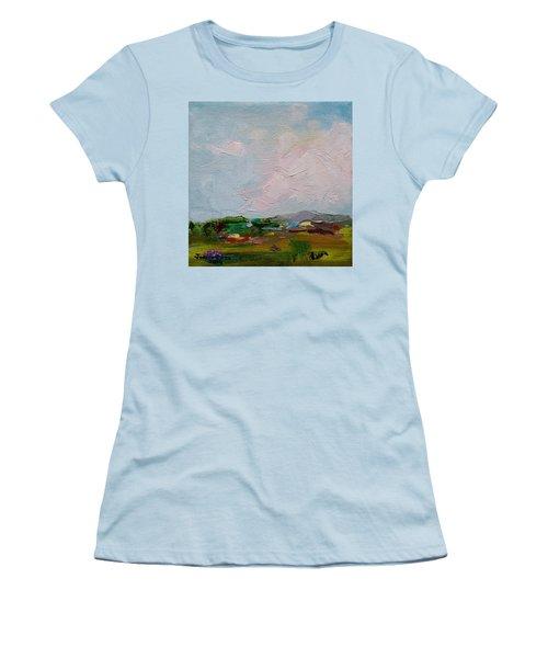 Farmland IIi Women's T-Shirt (Junior Cut) by Judith Rhue