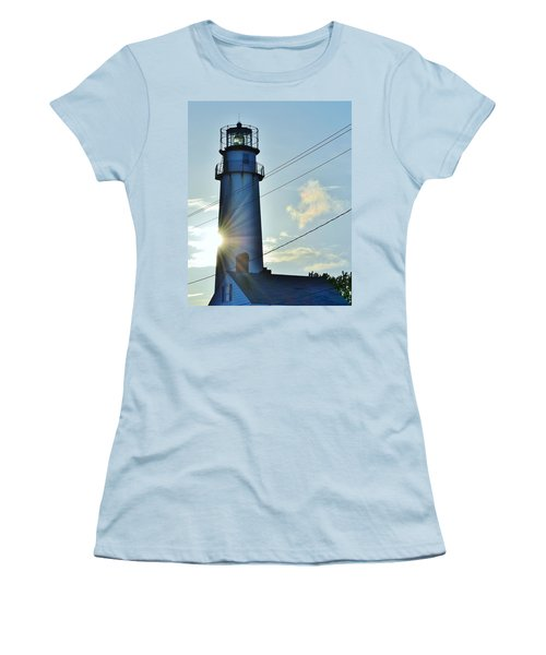Fenwick Island Lighthouse - Delaware Women's T-Shirt (Athletic Fit)