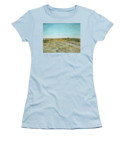 First Touch Of Autumn Women's T-Shirt (Athletic Fit)