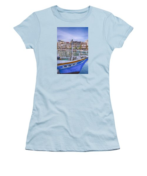 Fishing Boat Women's T-Shirt (Athletic Fit)
