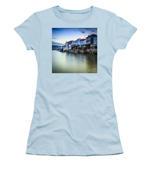 Fishing Town Of Redes Galicia Spain Women's T-Shirt (Athletic Fit)