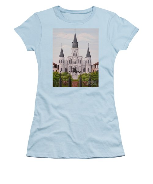 Five Fifteen In New Orleans Women's T-Shirt (Athletic Fit)