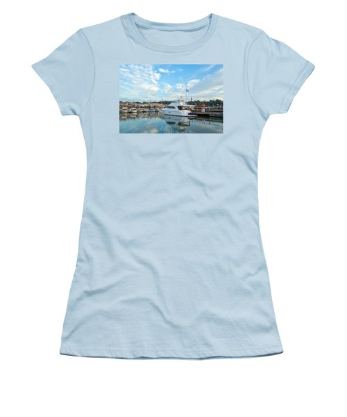 Flag View II Women's T-Shirt (Athletic Fit)
